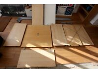 Ikea office furniture - cupboard and shelves unit