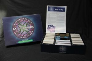 2000 Who Wants To Be A Millionaire Trivia Board Game