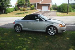 Audi  TT 2003 bas millage très bien entretenue a vendre