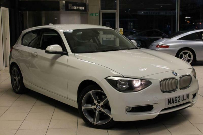 2012 62 BMW 1 SERIES 1.6 116I URBAN 3D 135 BHP