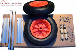 "15"" launching wheels for small boat Free Shipping to Victoria"