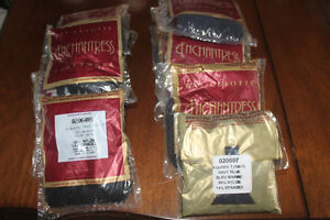 Queen Size Pantyhose (black & navy & new)