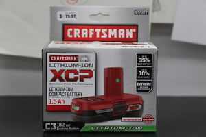 **CRAFTSMAN** C3 922377 1.5Ah Lithium-Ion XCP Compact Battery