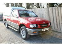 2000 Vauxhall/Opel BRAVA 4X4 DI LIMITED SINGLE CAB ONLY DONE 52k MINT CONDITION