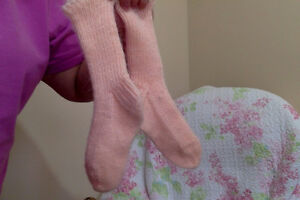 Hand knit Organic wool Socks, Earth tone Colour, 100% Organic Edmonton Edmonton Area image 10