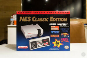 Brand New Nintendo Entertainment System: NES Classic Edition