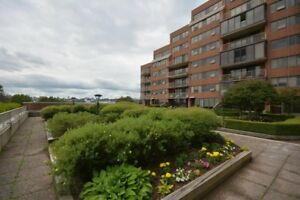 DOWNTOWN DARTMOUTH CONDO, HARBOUR VIEW AND BUILDING POOL