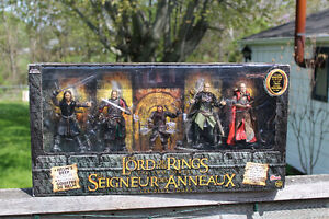 Lord Of The Rings Helms Deep Battle Set - action figures