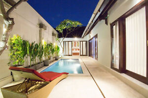BALI Exotic Villa With a Swimming Pool In Front Of Your Bedroom