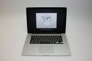 "15"" Apple MacBook Pro (Retina, Mid 2012, 256GB SSD, 8GB Ram)"