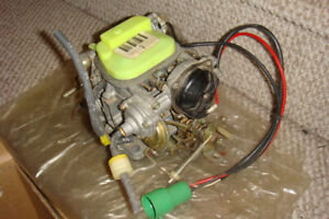 Used carburetor from early 80's 4-cyl Toyota camper truck