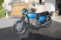 classic seventies motorcycles