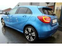 2015 BLUE MERCEDES A200 2.1 CDI SPORT DIESEL MANUAL CAR FINANCE FR £193 PCM
