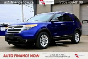 2013 Ford Explorer XLT 4WD 7 PASSENGER $176 biweekly oac