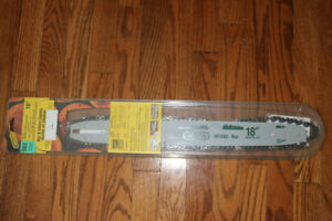 """Chainsaw replacement bar and chain combo –OREGON- S62, 18"""" (New)"""