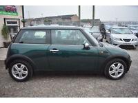 Mini Mini 1.6 One 2006MY 3 DOOR GREEN+BEAUTIFUL