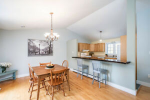 Quick closing possible! Open-concept bungalow in Stillwater Lake