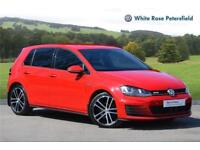 2015 Volkswagen Golf GTD 2.0 TDI 184 PS 6-speed manual 5 Door Diesel red Manual