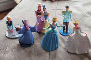 Cinderella Figurine Set 6 pc