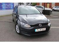 2014 14 VOLKSWAGEN GOLF 1.6 SE TDI BLUEMOTION TECHNOLOGY 5D 103 BHP DIESEL