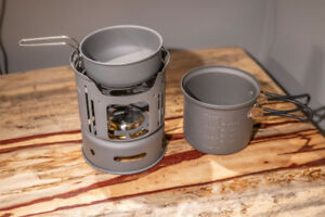 Camp stove set