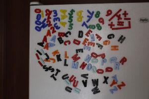 Aimants Lettres et chiffres magnétiques