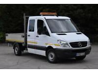 2.1 313 CDI D/C MWB 4D 129 BHP 3 SEATER DIESEL AUTOMATIC TIPPER 2012
