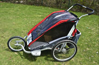 Chariot (Cougar 2) double jogging stroller/bike trailer