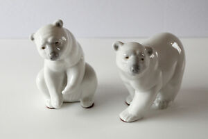 Lladro Bear Figurines