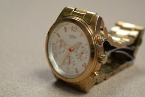 Guess Gold-Tone Chronograph Ladies Watch W16571L1 #192