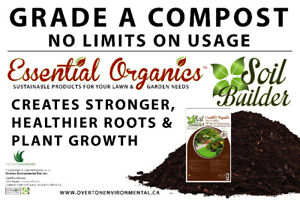 Essential Organics - Soil Builder Available in 20 & 30 L Bags!