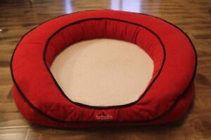 Waterproof Memory Foam Dog Bed &Washable Cover in Good Condition