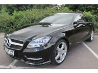 2013 63 MERCEDES-BENZ CLS CLASS 2.1 CLS250 CDI BLUEEFFICIENCY AMG SPORT 4DR AUTO