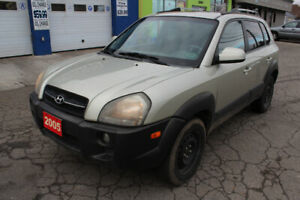 2005 Hyundai Tucson AWD GLS V6 Leather