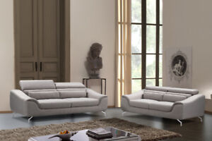 stylish modern designed Sofa Set With Adjustable headrests