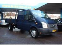 2012 12 FORD TRANSIT 350 LWB 2.2 350 DRW DROPSIDE 99 BHP DIESEL
