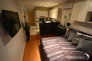 Studios:   Neuf/Meuble/Tout Inclus -- New/Furnished/All Included