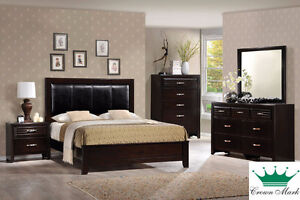 Brand NEW  Dark Espresso 6-Piece Bedroom Set! Call 306-970-3822!