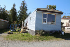 Large two bedroom mini home available immediately
