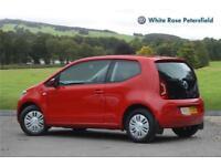 2013 Volkswagen UP move up! 1.0 60 PS 5-speed manual 3 Door Petrol red Manual