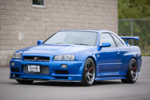 Want to buy Nissan Skyline R34