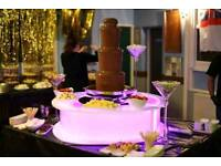 Chocolate Fountain and Base For Sale