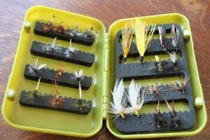 Fly Case and 24 Handtied Flies for trout fishing {See Photo's}