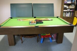 POOL TABLE AND PING PONG COMBINED