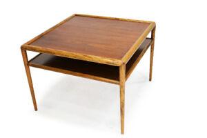 Designer MCM Walnut Coffee Table