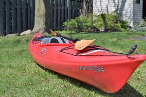 Kayak Necky 11 pieds avec pagaie