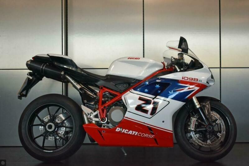 Ducati 1098 Bayliss Livery Low Mileage