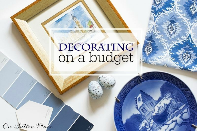 Budget Decorating: 5 More Easy Tips from On Sutton Place
