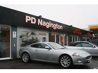 2006 JAGUAR JAGUAR XK 4 2 V8 2DR AUTO XK + CREAM HEATED LEATHER + SAT NAV + FSH