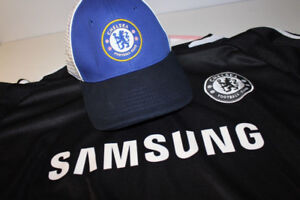 Hat & Two Jersey Gift Set Chelsea FC English Football Soccer Eng